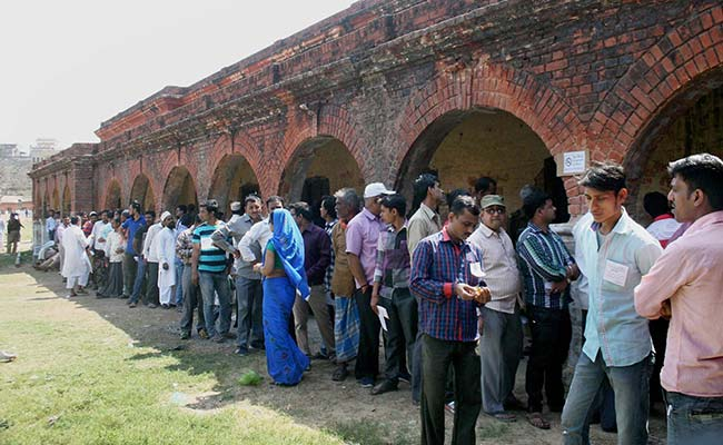 56 pc voting till 4 PM in last phase of UP polls